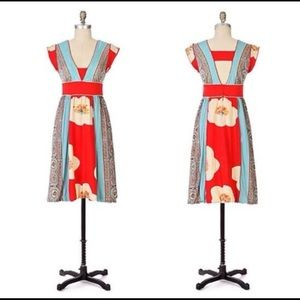RARE Anthropologie Ric Rac The Secret Joy Dress